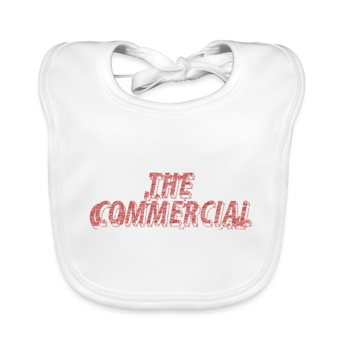 The Commercial #2 (Salmon Long Strokes) - Organic Baby Bibs