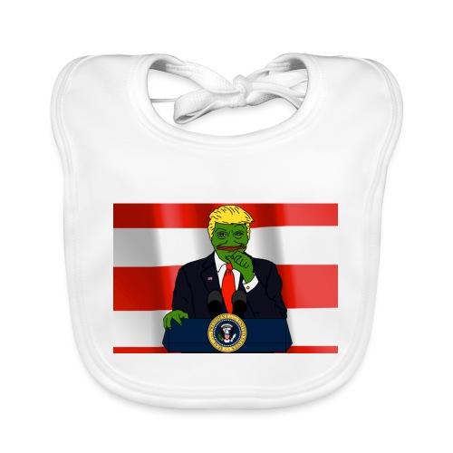 Pepe Trump - Organic Baby Bibs