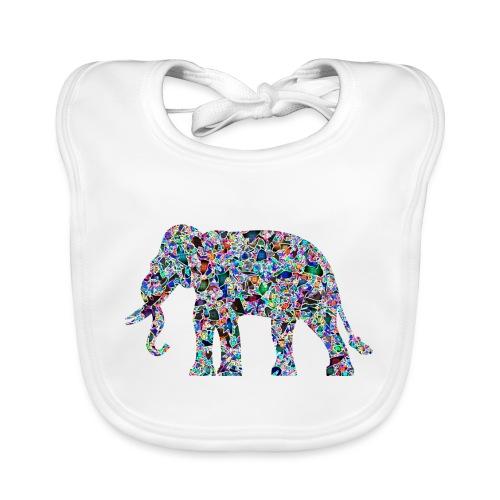 Elephant - Organic Baby Bibs