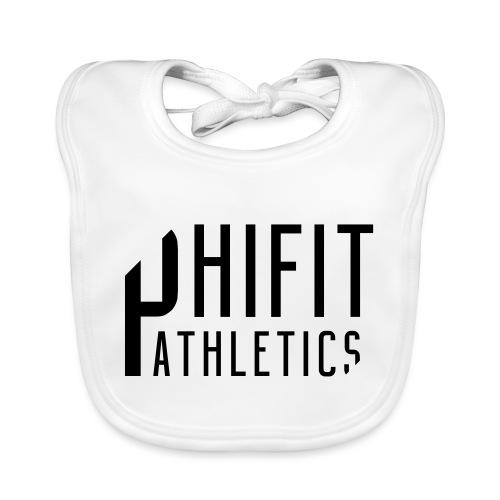 Phifit Athletics Orginal Logo Black - Bio-slabbetje voor baby's