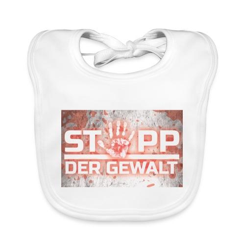 STOPP DER GEWALT - Organic Baby Bibs