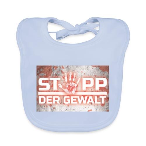 STOPP DER GEWALT - Baby Organic Bib