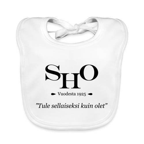 SHO - Tule sellaiseksi kuin olet - Vauvan luomuruokalappu