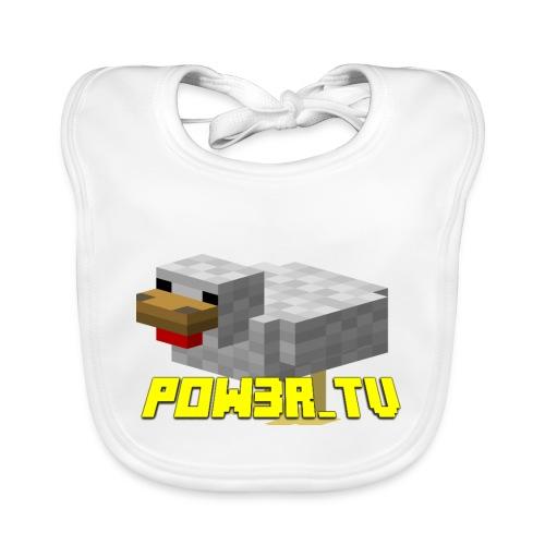POW3r-peluche - Bavaglino ecologico per neonato