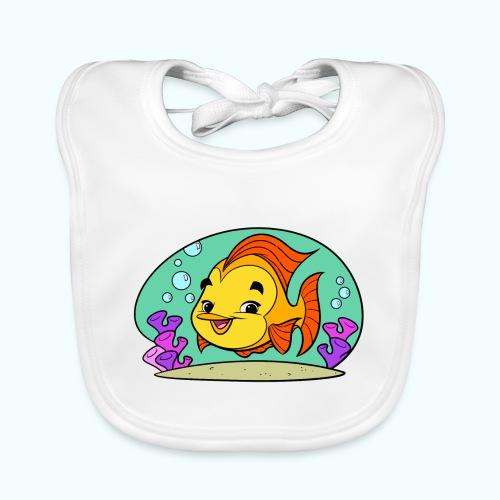 Fishy Tiny Art Collection - Baby Organic Bib