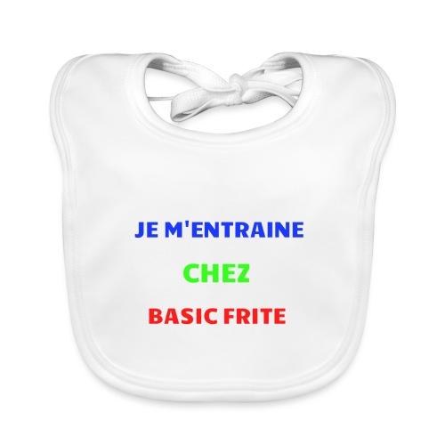 Basic Frite - Bavoir bio Bébé