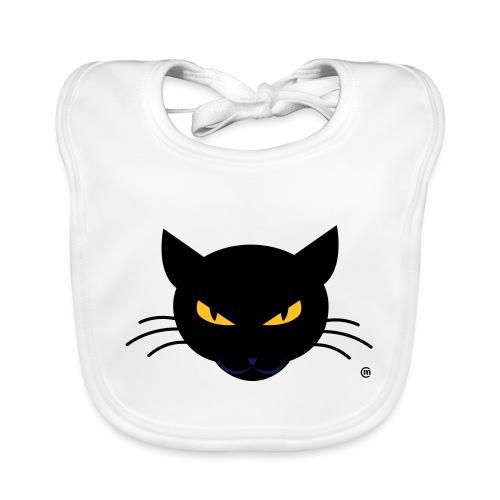 Evil Kitty - Baby Bio-Lätzchen