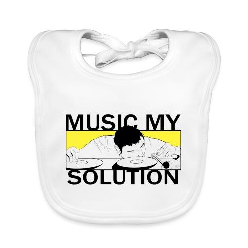 MUSIC MY SOLUTION - Bavoir bio Bébé