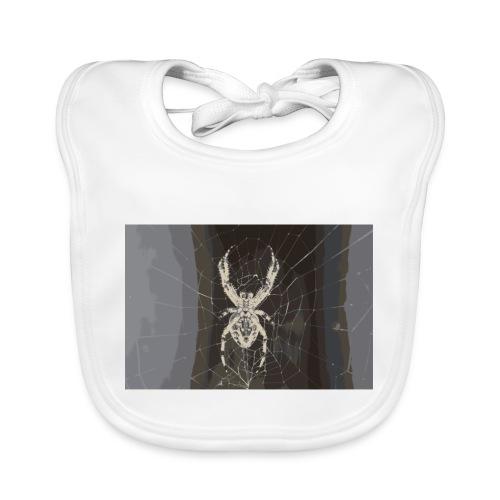 attacking spider - Baby Bio-Lätzchen