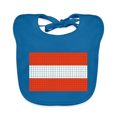 austrian flag - Bavaglino ecologico per neonato