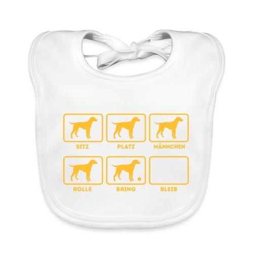 Für alle Hundebesitzer mit Humor - Baby Bio-Lätzchen