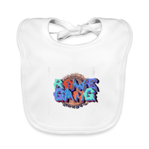 RoweGang Basic Logo - Vauvan luomuruokalappu