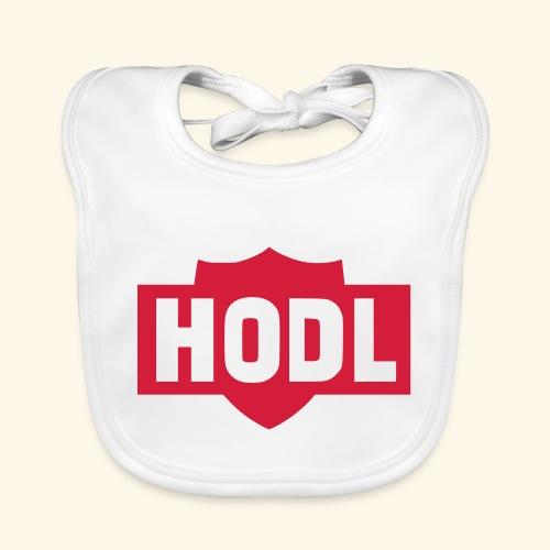 HODL TO THE MOON - Vauvan ruokalappu
