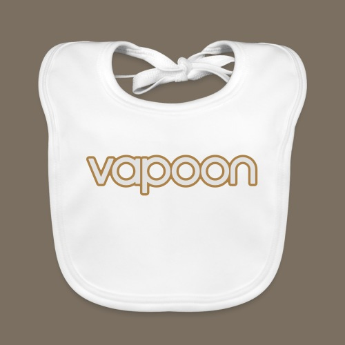 Vapoon Logo simpel 2 Farb - Baby Bio-Lätzchen