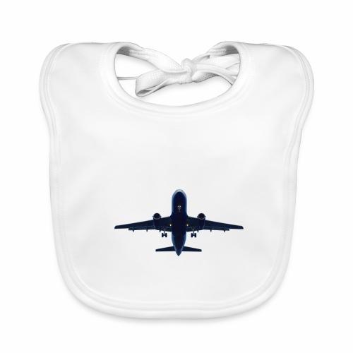 Flugzeug - Baby Bio-Lätzchen