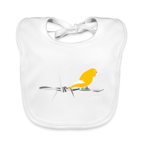 bird-spread - Bavoir bio Bébé