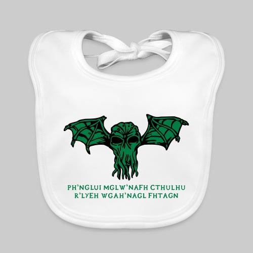 Cthulhu Wings Fhtagn - Baby Bio-Lätzchen