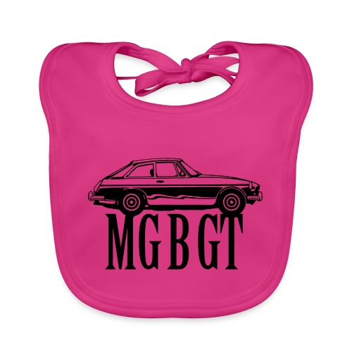 MG MGB GT - Autonaut.com - Baby Organic Bib