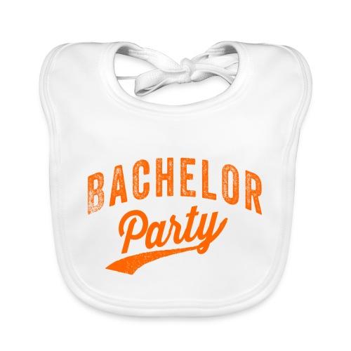 Bachelor Party oranje - Bio-slabbetje voor baby's