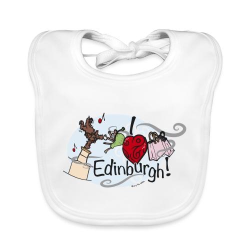 I love Edinburgh - Organic Baby Bibs