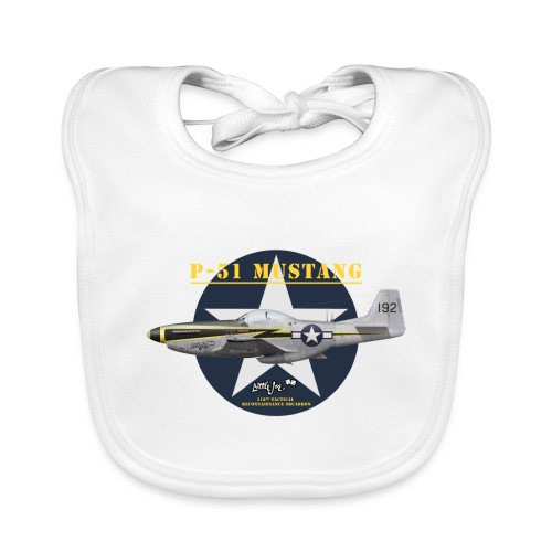 P-51 Little Joe - Baby Organic Bib