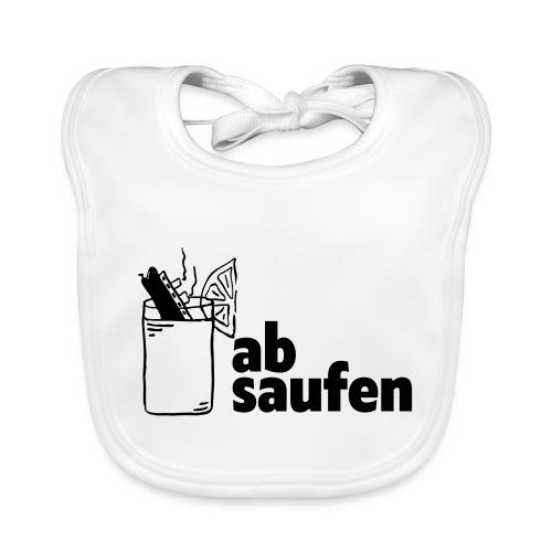 absaufen - Baby Bio-Lätzchen