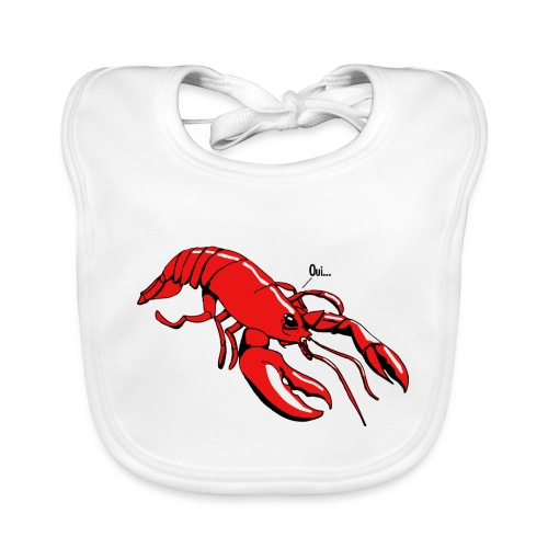 Lobster - Baby Organic Bib