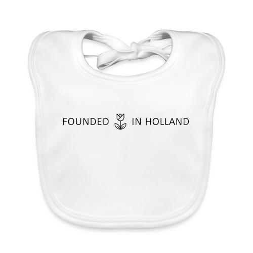 logofoundedinholland - Organic Baby Bibs