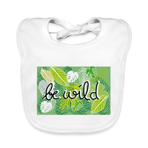 Be Wild - Palm - Flora - Baby Bio-Lätzchen