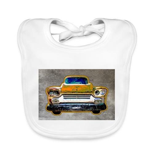 auto vintage - Baby Bio-Lätzchen