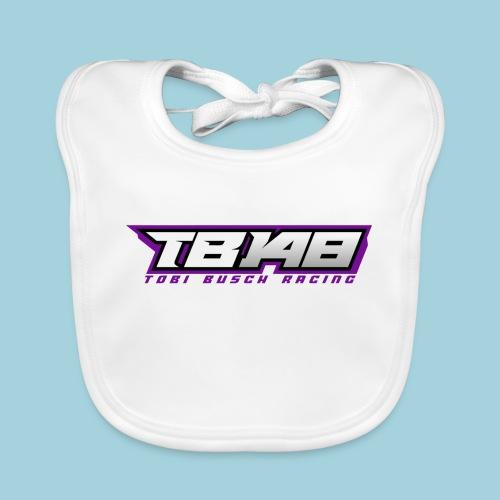 Tob Logo Lila - Baby Bio-Lätzchen