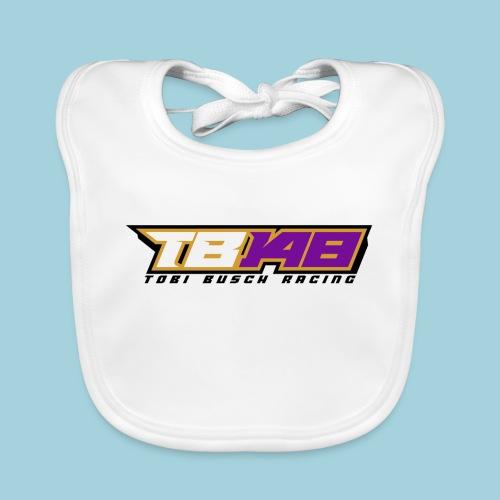 Tobi Logo schwarz - Baby Bio-Lätzchen