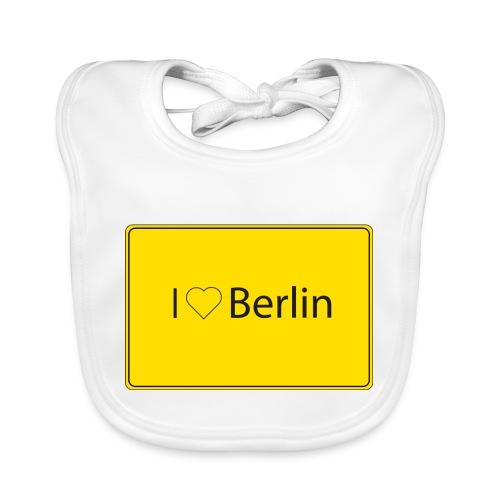 I love Berlin - Baby Bio-Lätzchen