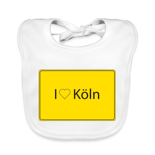 I love Köln - Baby Bio-Lätzchen