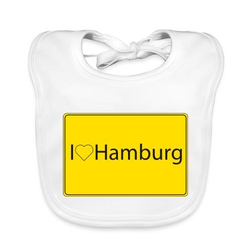 I love hamburg - Baby Bio-Lätzchen