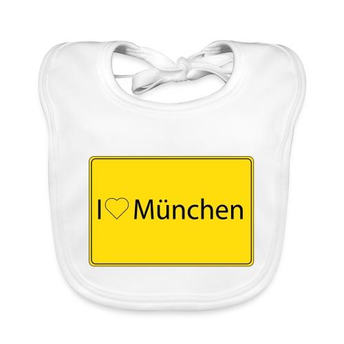 I love München - Baby Bio-Lätzchen