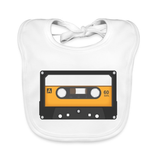Cassette tape - Bio-slabbetje voor baby's