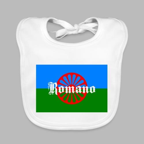 Flag of the Romanilenny people svg - Ekologisk babyhaklapp