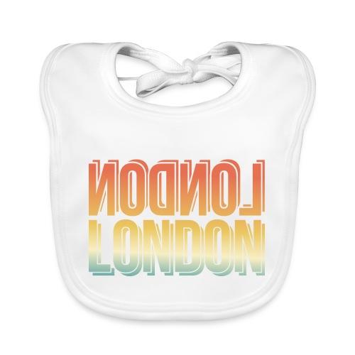 London Souvenir England Simple Name London - Baby Bio-Lätzchen