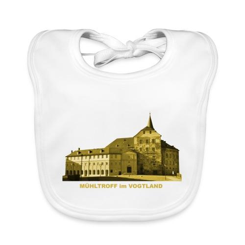 Mühltroff Burg Schloss Vogtland Sachsen - Baby Bio-Lätzchen