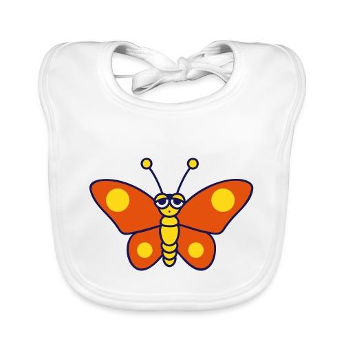 lief vlindertje - Bio-slabbetje voor baby's