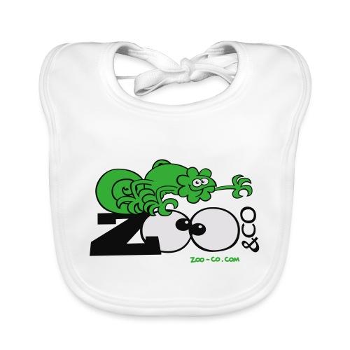 Zooco Chameleon - Baby Organic Bib