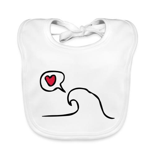 Love Wave - Bio-slabbetje voor baby's