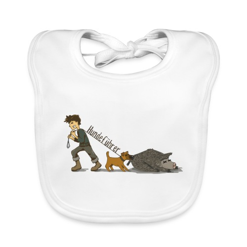 Hundeführer - Baby Bio-Lätzchen