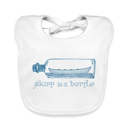 skiff in a bottle - Baby Organic Bib