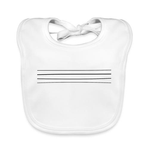 Re-entrant Womens White Tshirt - Baby Organic Bib