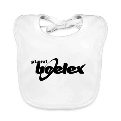 Planet Boelex logo black - Baby Organic Bib