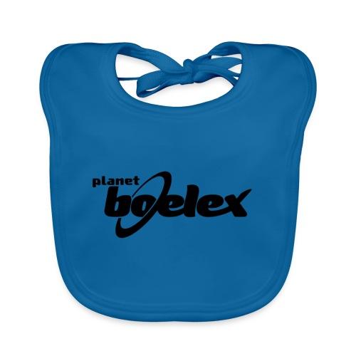 Planet Boelex logo black - Organic Baby Bibs