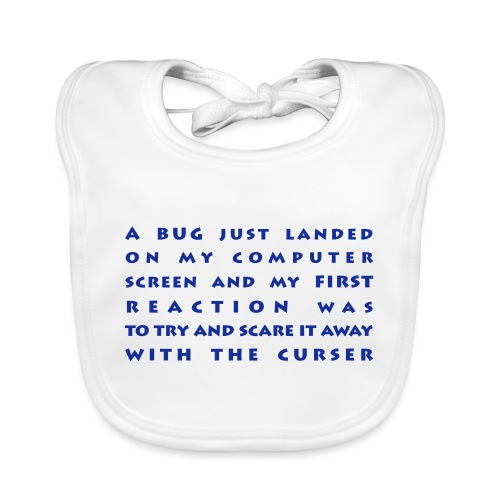 bug - Vauvan luomuruokalappu