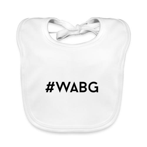 WABG ZWART png - Bio-slabbetje voor baby's